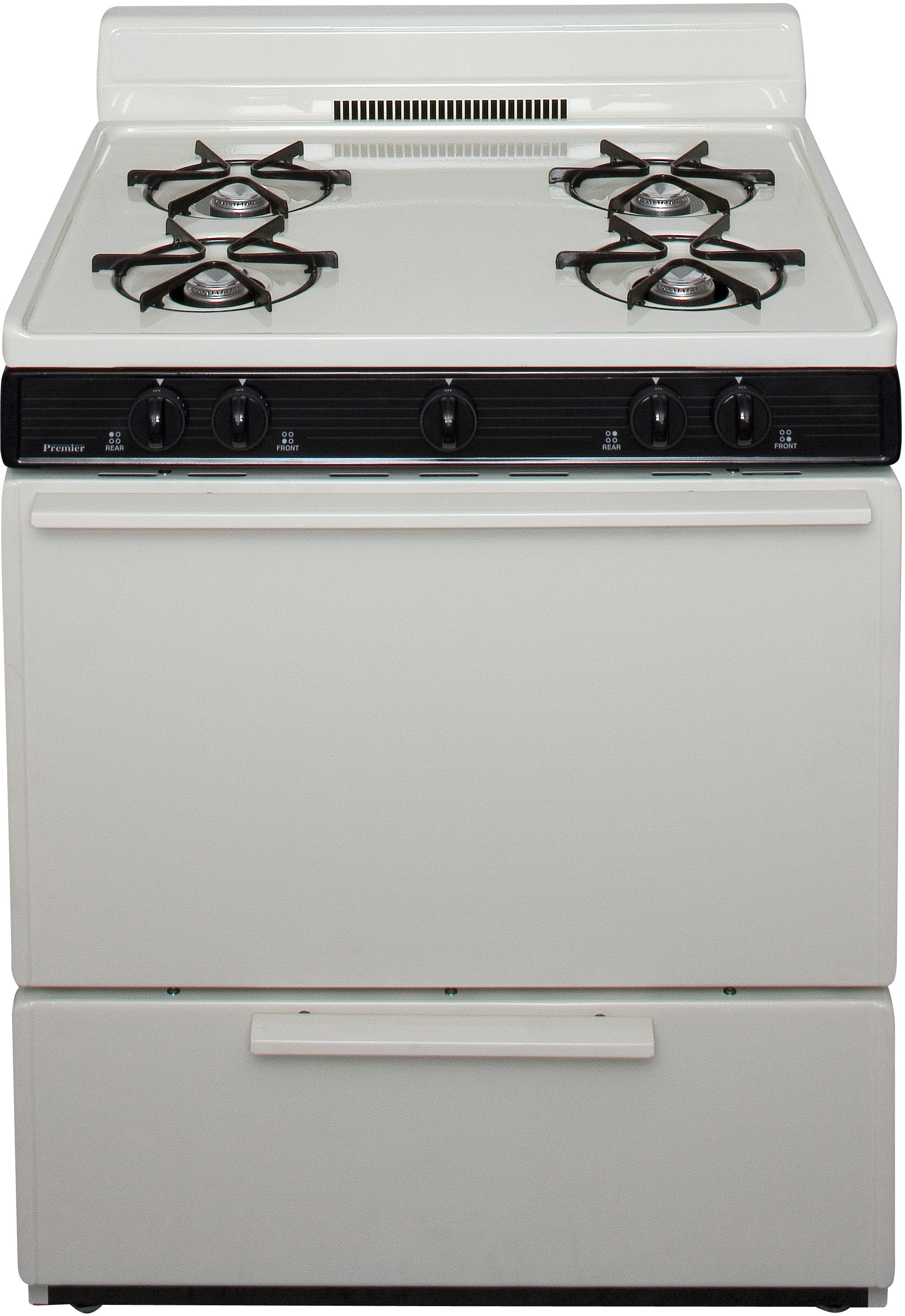 Premier Sfk100t 30 Inch Freestanding Gas Range With Four