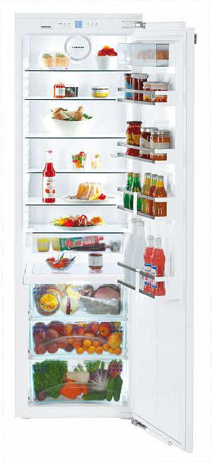 liebherr hrb1120 24 inch built in full refrigerator column with 5 glass shelves biofresh. Black Bedroom Furniture Sets. Home Design Ideas