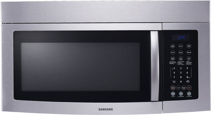 Samsung Smh8165ste 1 6 Cu Ft Over The Range Microwave