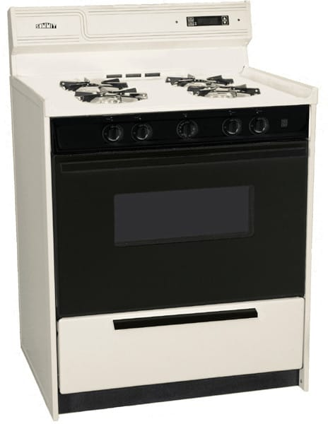 Summit Snm2307cdk 30 Inch Freestanding Gas Range With