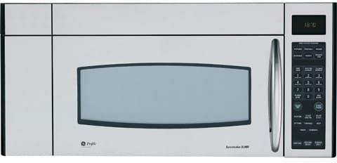 Ge Jvm3670sk 1 8 Cu Ft Over The Range Microwave Oven