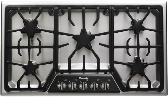 Thermador Sgsx365fs 36 Inch Gas Cooktop With 5 Star