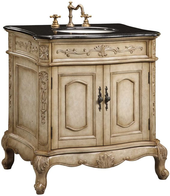 Empire Industries Madison 30 Bathroom Vanity empire industries ve30aw 30 inch traditional vanity with cabinet