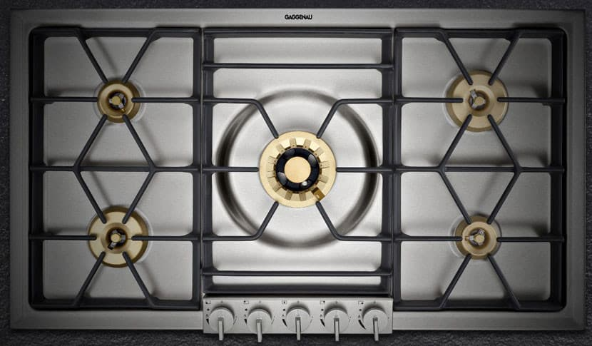 Best Wine Coolers >> Gaggenau VG295214CA 36 Inch Gas Cooktop with 5 Sealed ...