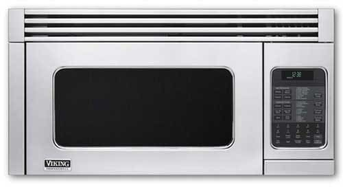 Viking Vmor205ss 1 1 Cu Ft Over The Range Microwave Oven