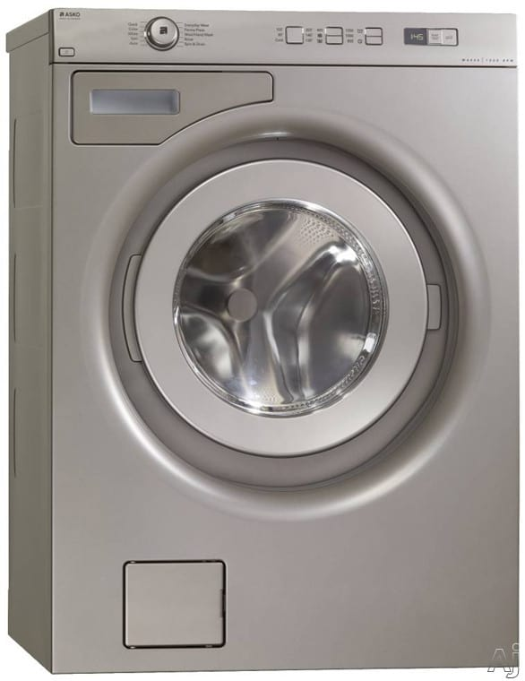 Asko W6424t 24 Inch Front Load Washer With 2 12 Cu Ft