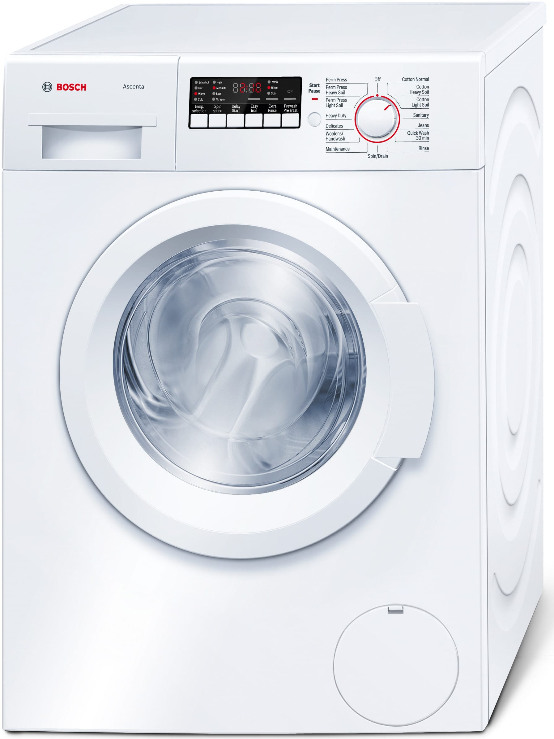 Bosch Wap24200uc 24 Inch Front Load Washer With 2 2 Cu Ft