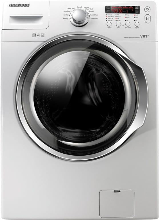 Samsung Wf330anw 27 Inch Front Load Washer With 3 7 Cu Ft
