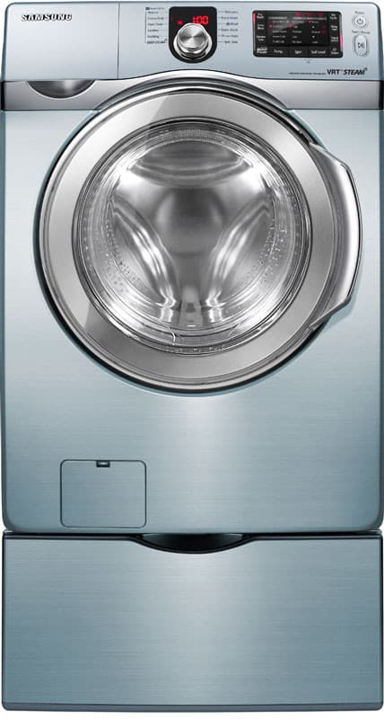 Samsung Wf419aau 27 Inch Front Load Steam Washer With 4 3