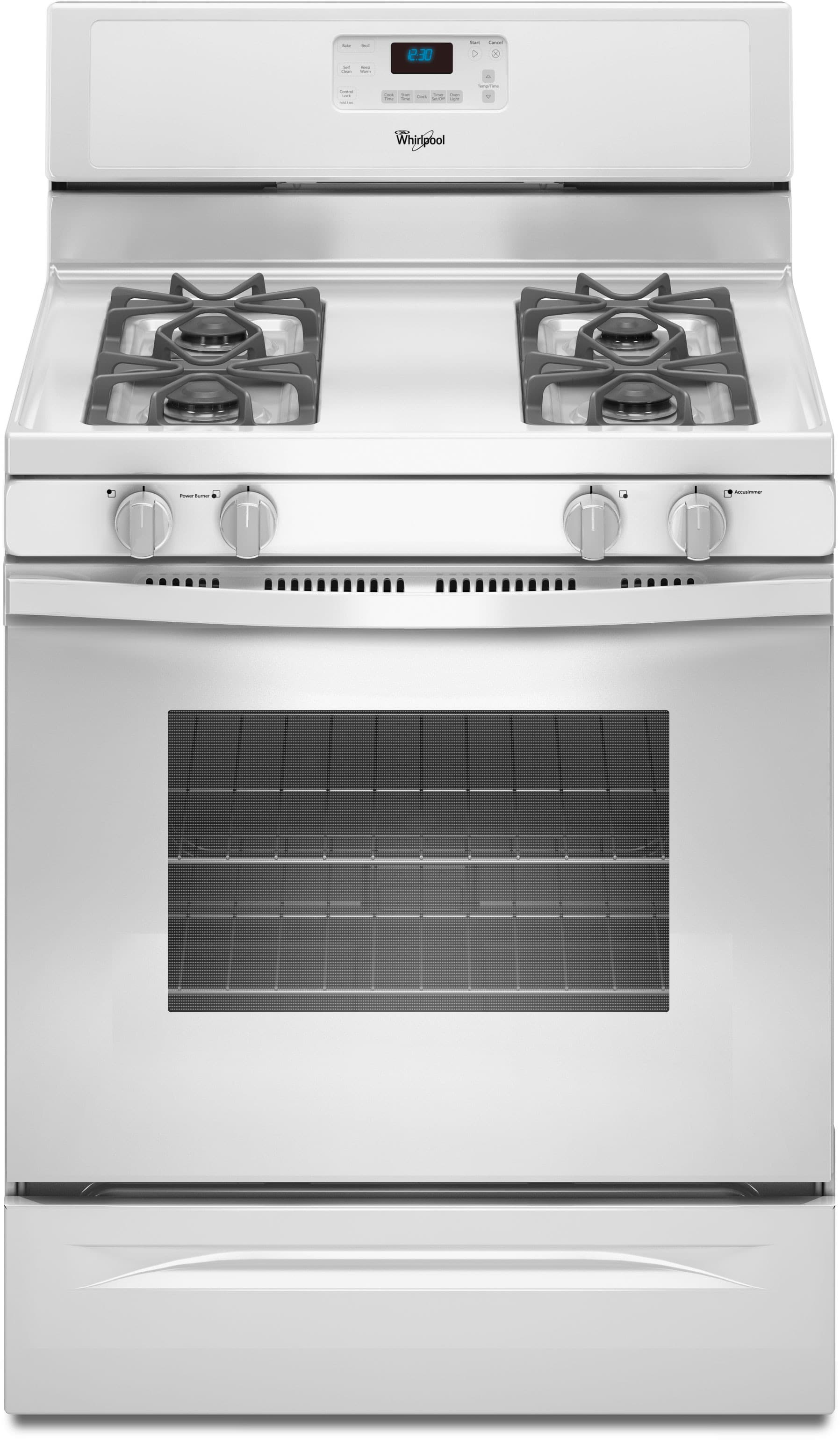 Whirlpool Wfg510s0aw 30 Inch Freestanding Gas Range With 4
