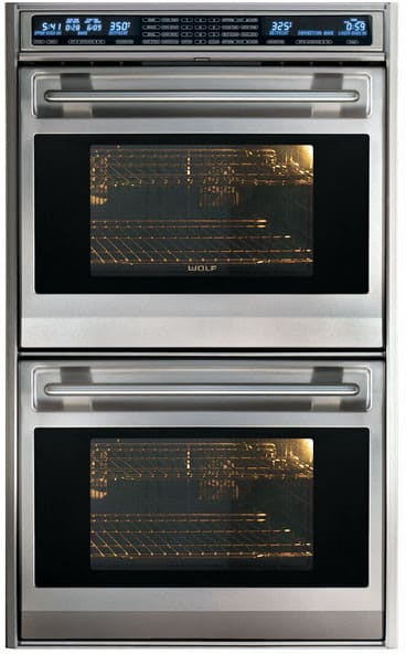 Wolf Do30fs 30 Inch Double Electric Wall Oven With 4 5 Cu