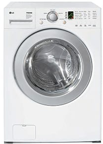 Lg Wm2016cw 27 Inch Front Load Washer With 3 6 Cu Ft