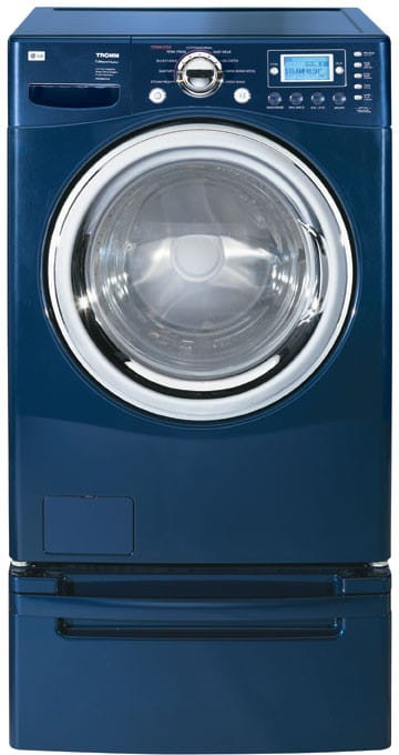 Lg Wm2688hnm 27 Inch Tromm Front Load Steamwasher With 4 0 Cu Ft