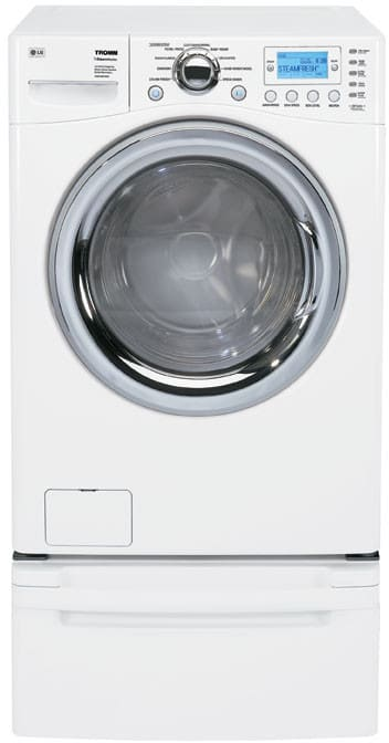 Lg Wm2688hwm 27 Inch Tromm Front Load Steamwasher With 4 0