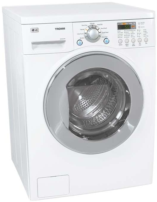 Lg Wm3431hw 24 Inch Washer Dryer Combo With 2 44 Cu Ft