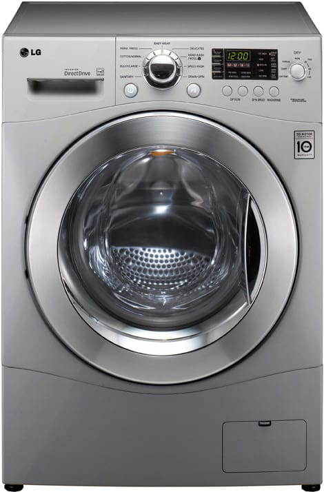 Lg Wm3455hs 24 Inch Front Load Compact Washer Dryer Combo