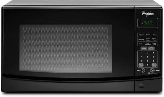 Whirlpool Wmc10007ab 0 7 Cu Ft Countertop Microwave Oven