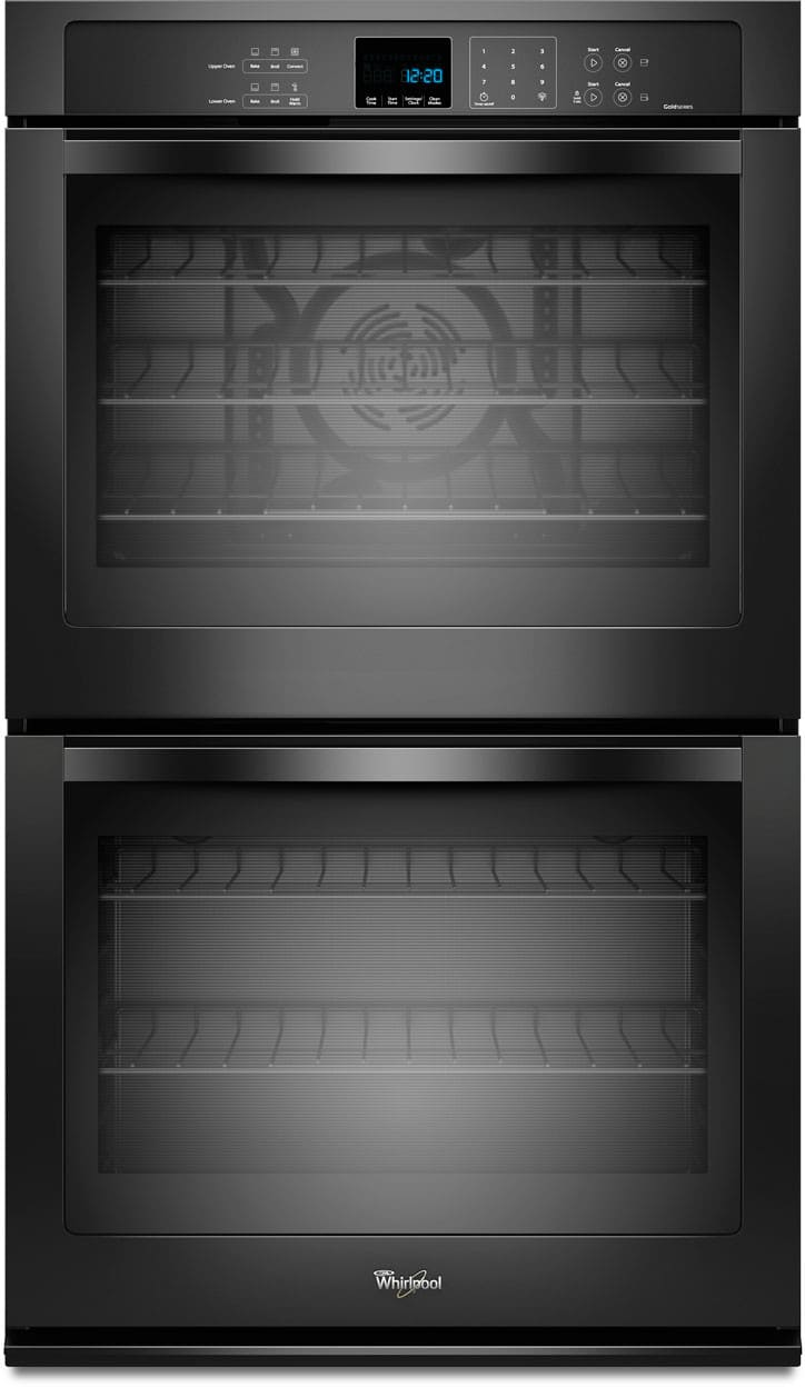 Whirlpool Wod93ec0ab 30 Inch Double Electric Wall Oven With True Microwave Wiring Diagram Convection Temperature Sensor Precise Clean 100 Total Cu Ft