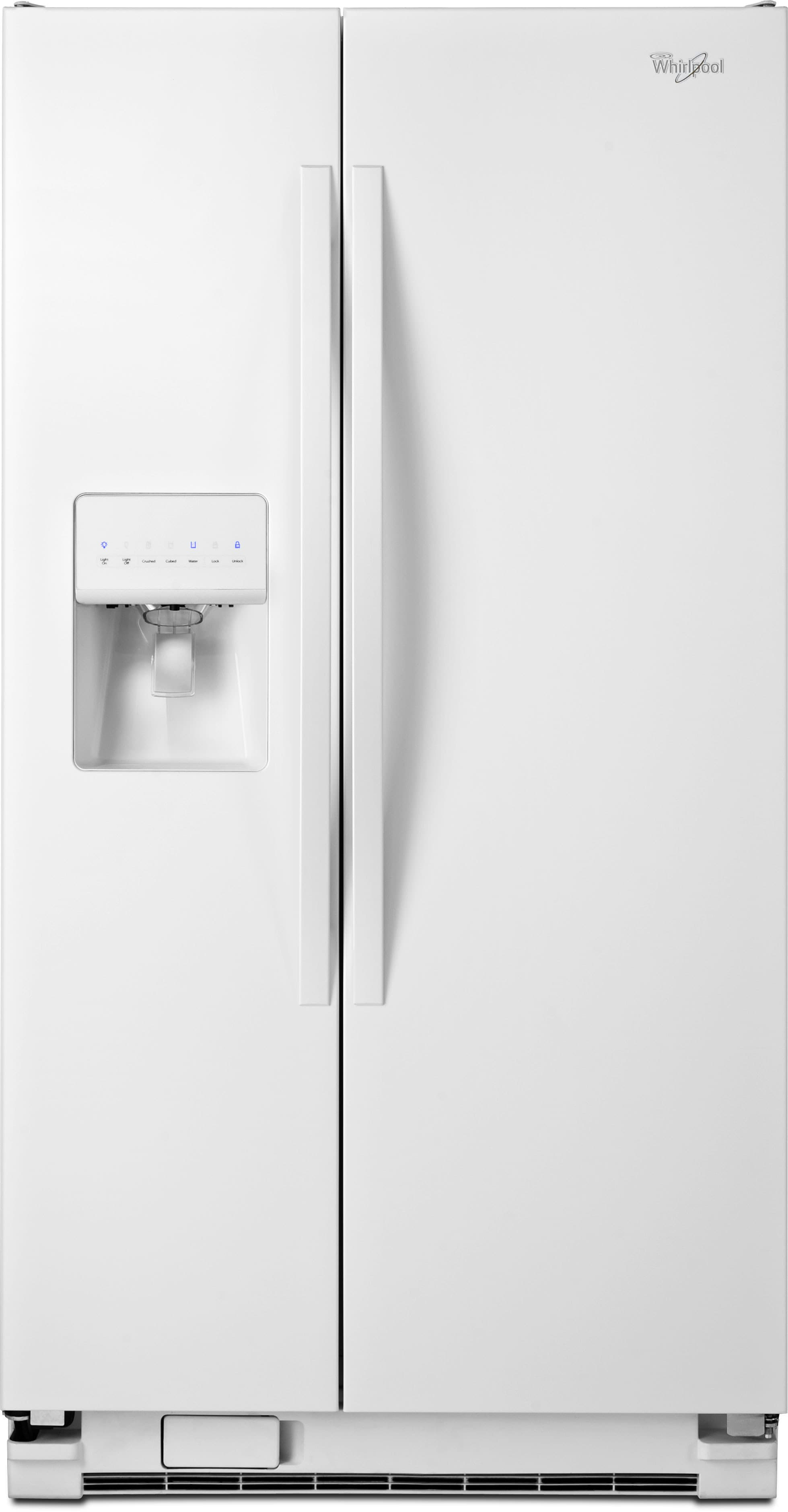 Whirlpool Wrs325fdaw 36 Inch Side By Side Refrigerator