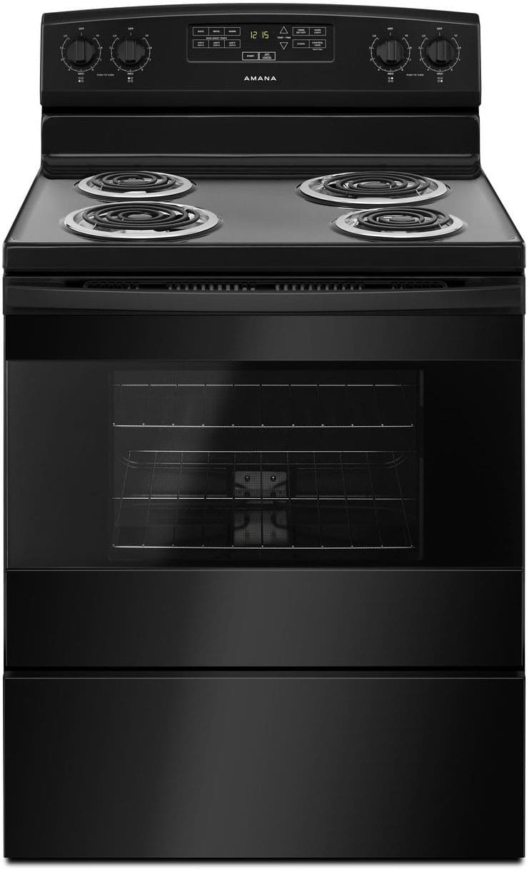 Amana Acr4303mfb 30 Inch Freestanding Electric Range With
