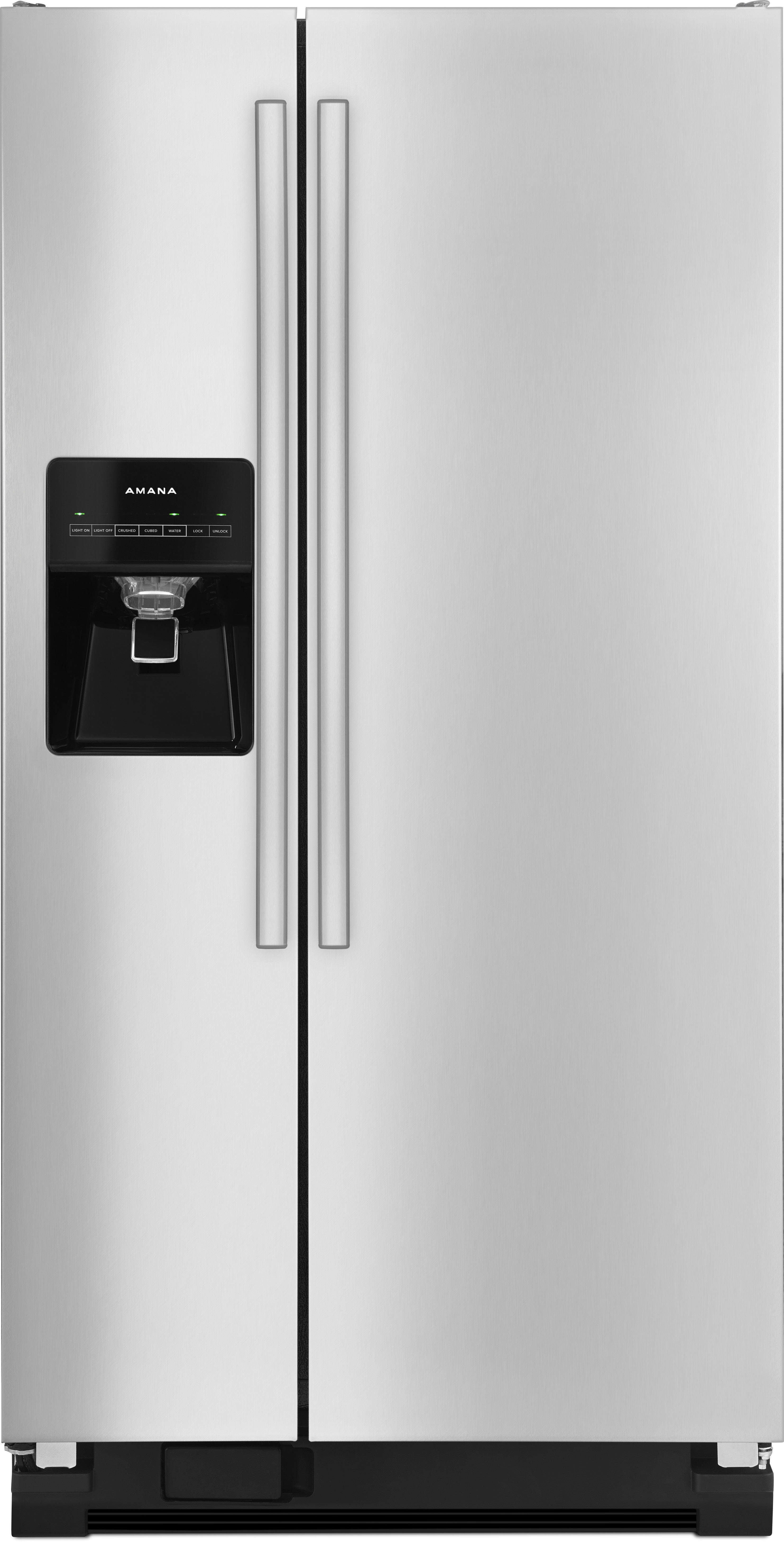 Amana Asi2275frs 33 Inch Side By Side Refrigerator With 21