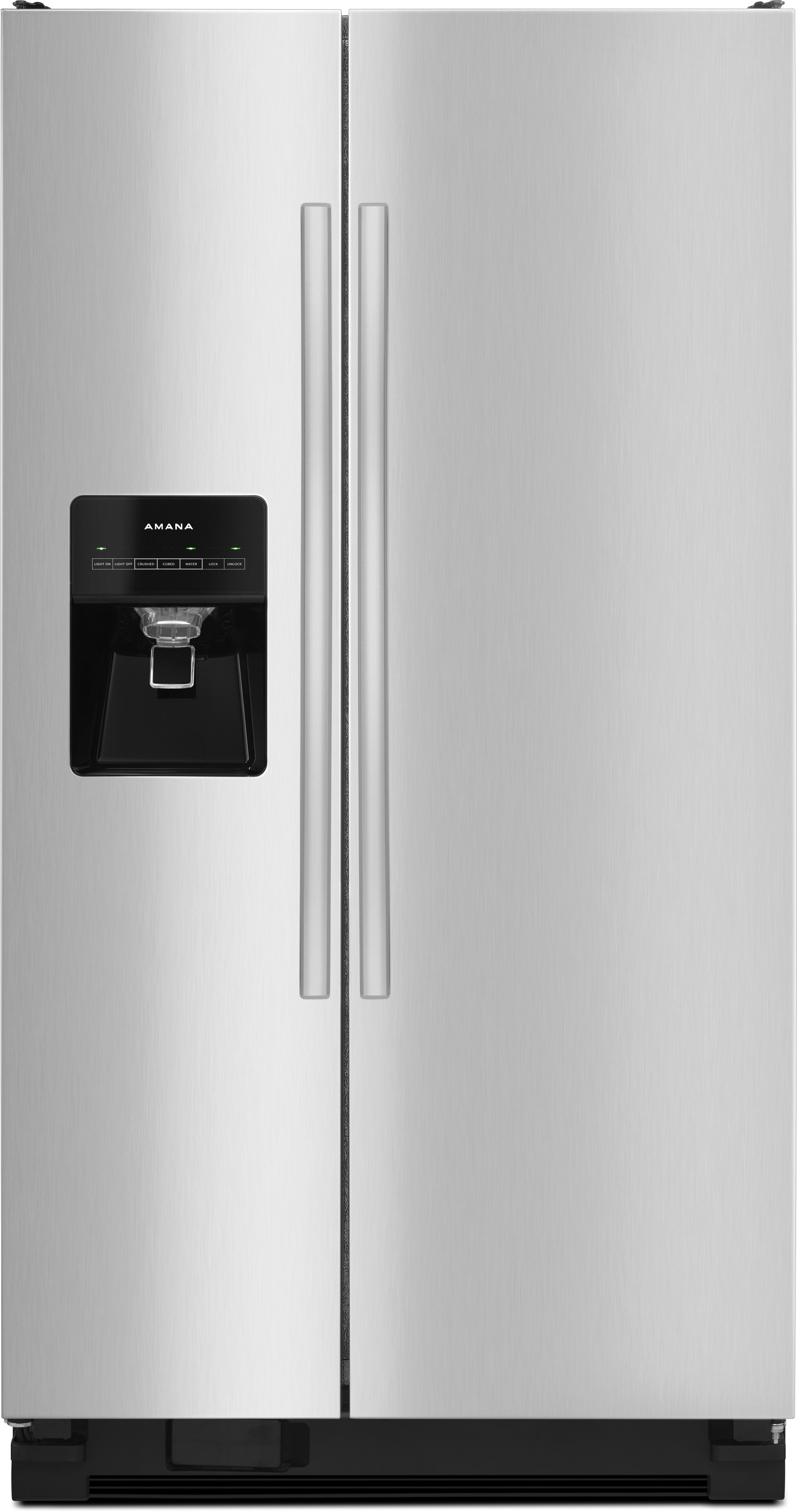 Amana Asi2575frs 36 Inch Side By Side Refrigerator With 24