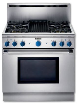 Thermador P364glclp 36 Inch Pro Style All Gas Range With 4