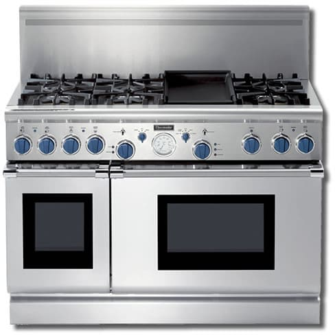 Thermador Pd486gebs 48 Inch Pro Style Dual Fuel Range With