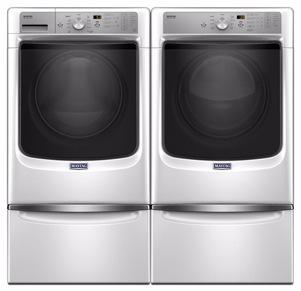 Maytag Mawadrgw82 Side By Side On Pedestals Washer Amp Dryer