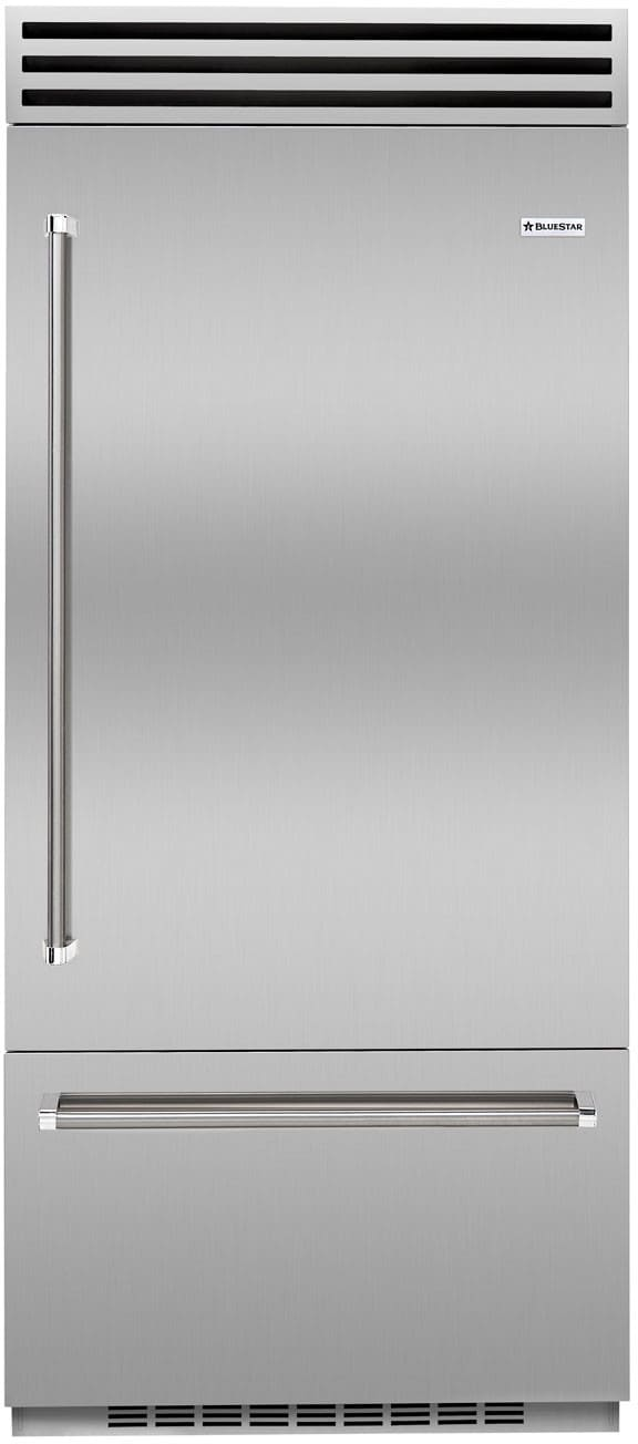 Bluestar Bbb36r2 36 Inch Built In Refrigerator With Dual