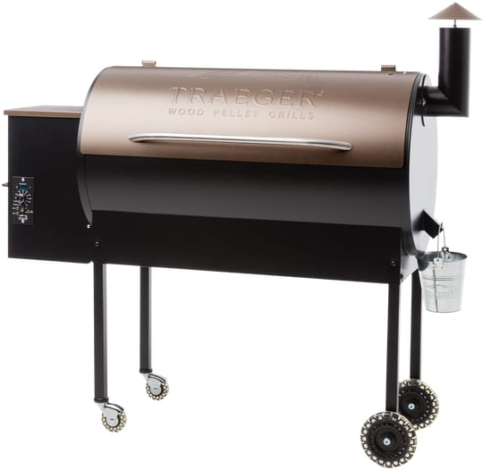 Traeger Bbq075 54 Inch Freestanding Wood Pellet Grill With