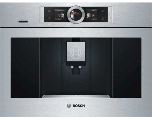 Bosch Coffee Maker Tkn68e75uc : Bosch BCM8450UC 24 Inch Built-in Coffee Machine with Home Connect App, 0.625 gal. Water ...