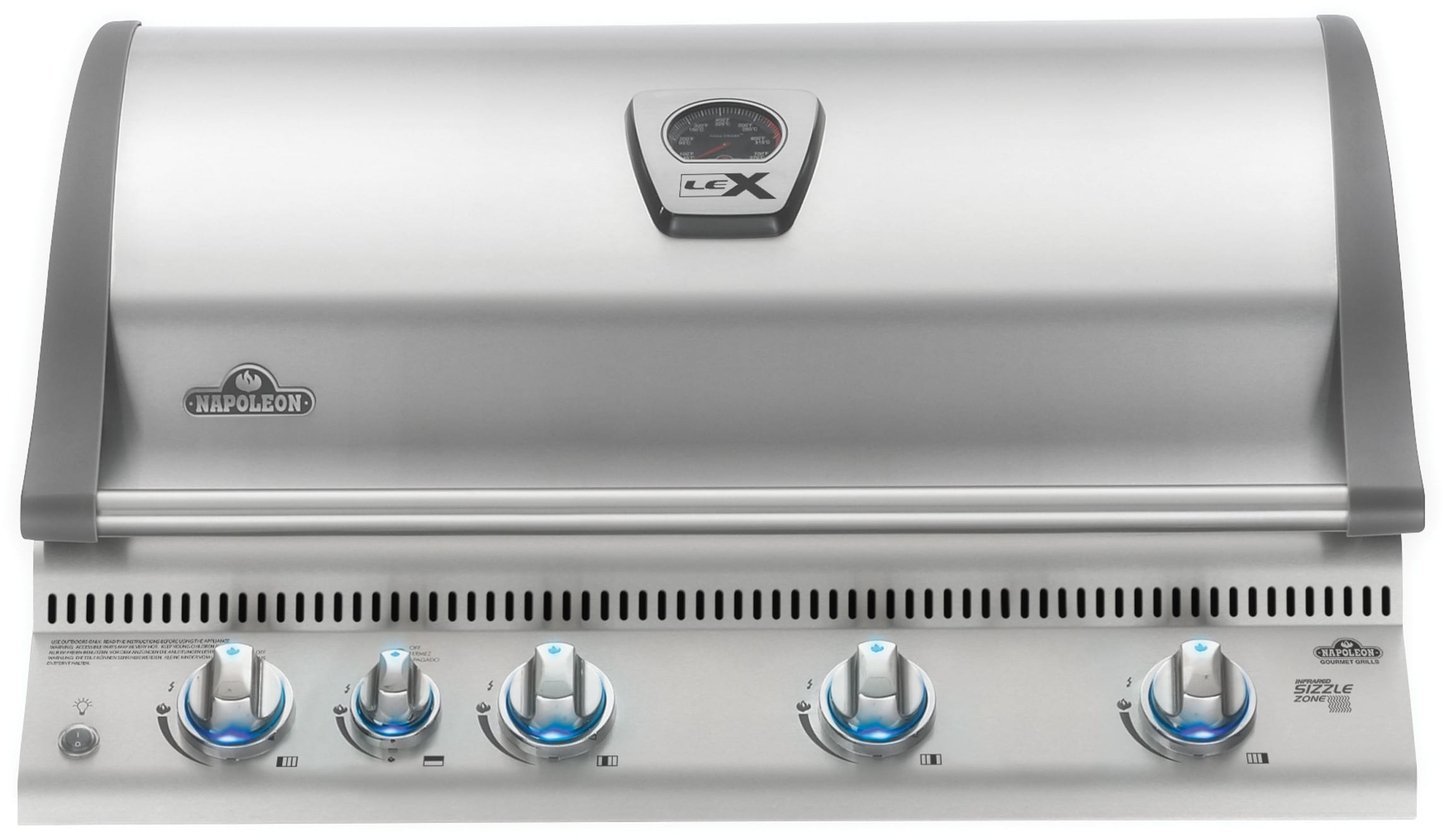 Napoleon Bilex605rbipss 36 Inch Built In Grill With 80 000