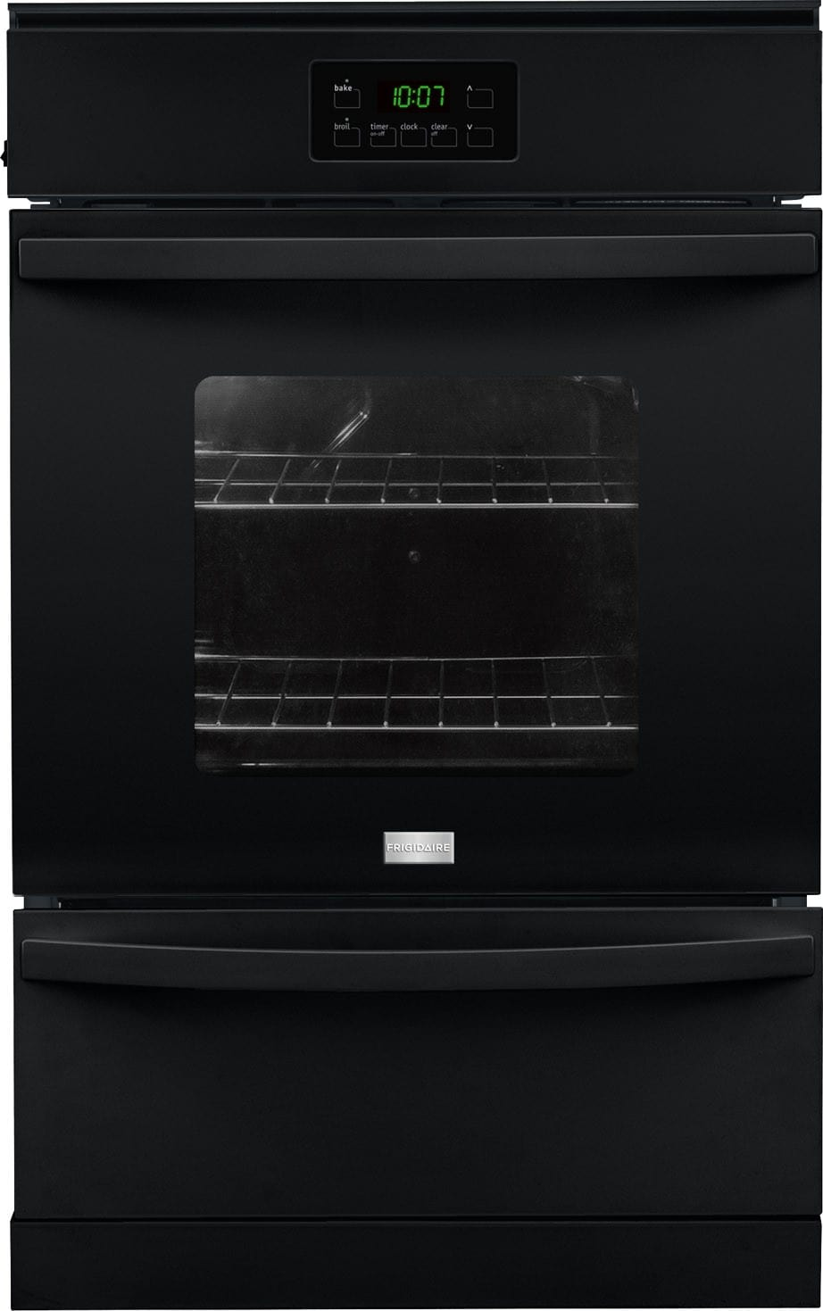 Frigidaire ffgw2415qb 24 inch single gas wall oven with for What is the bottom drawer of an oven for