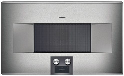 Gaggenau Bm485710 1 3 Cu Ft Built In Microwave Oven With