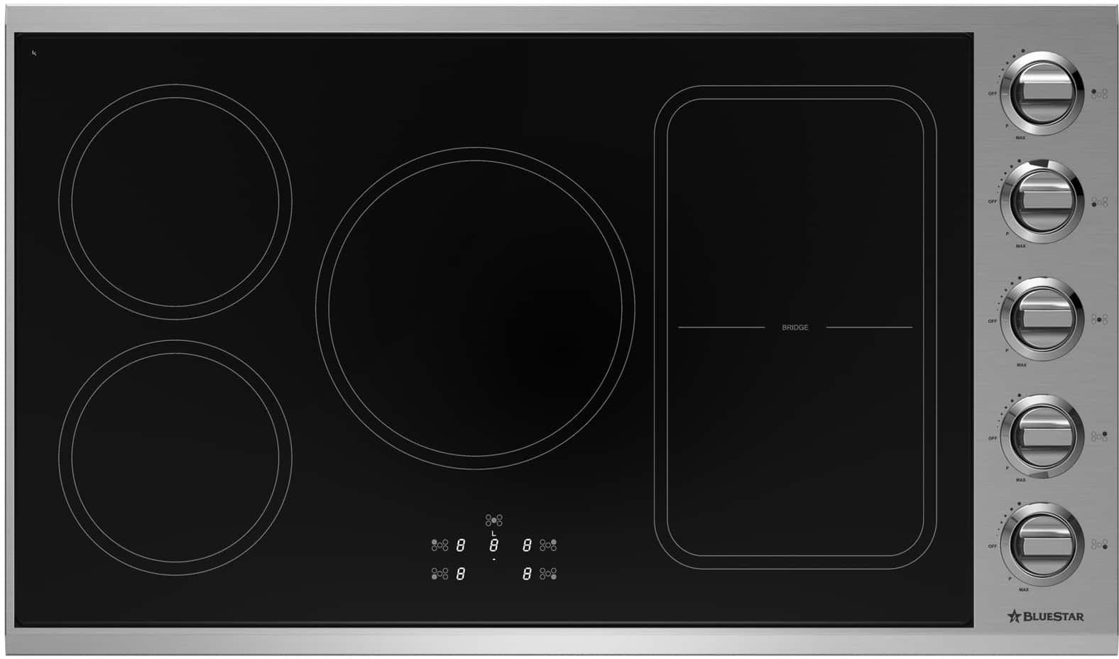 Bluestar Bsp36indckt 36 Inch Induction Cooktop With Rapid