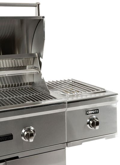 coyote cseries c1csbng cseries single side burner for cart grills - Coyote Grills