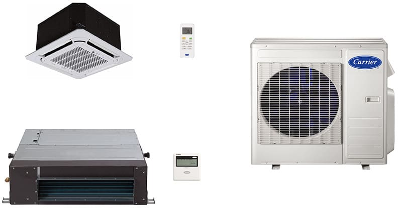 Carrier Ca18k3 2 Room Mini Split Air Conditioning System