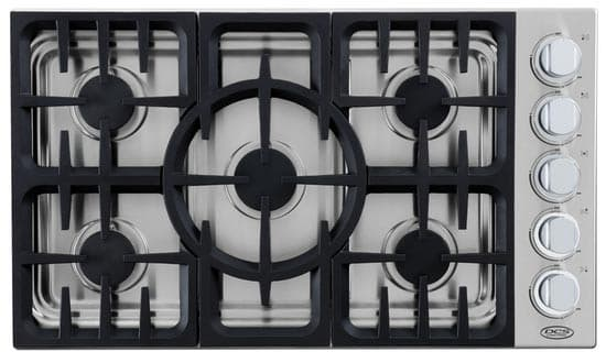 36 inch gas cooktops acton woodworks pertaining to drop in c