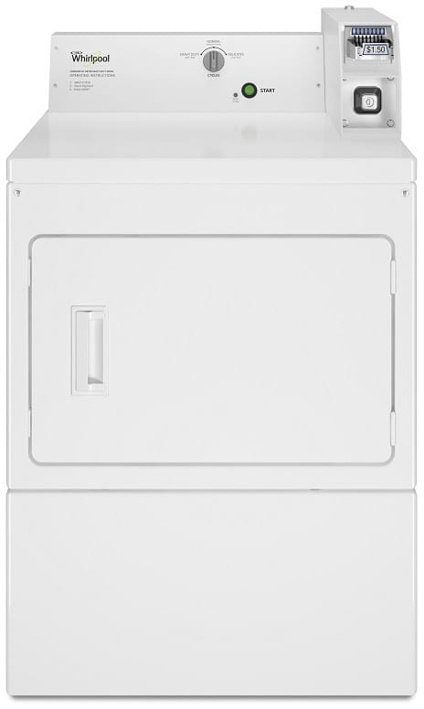 Whirlpool Cem2745fq 27 Inch Commercial Electric Dryer With
