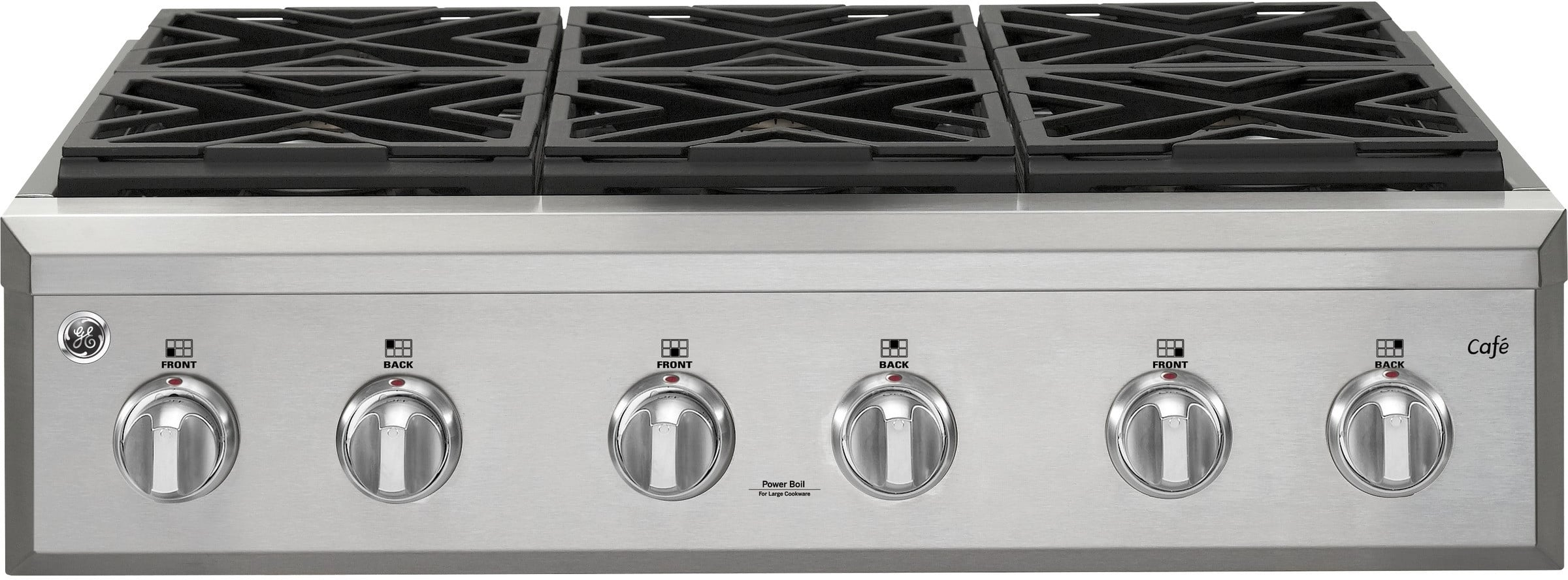 Ge Cgu366sehss 36 Inch Natural Gas Rangetop With