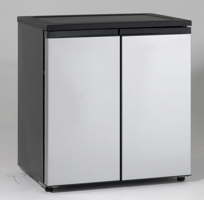 Avanti Rms550ps 5 5 Cu Ft Side By Side Refrigerator With