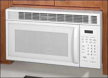Magic Chef Cmv1000bdw 1 1 Cu Ft Over The Range Microwave