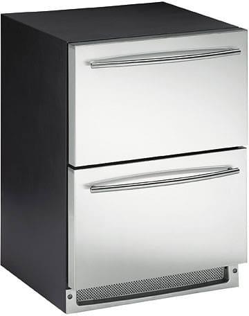 uline mini fridge built uline echelon series co2175dwrs view 24 inch combo refrigeratorfreezer drawer with 50
