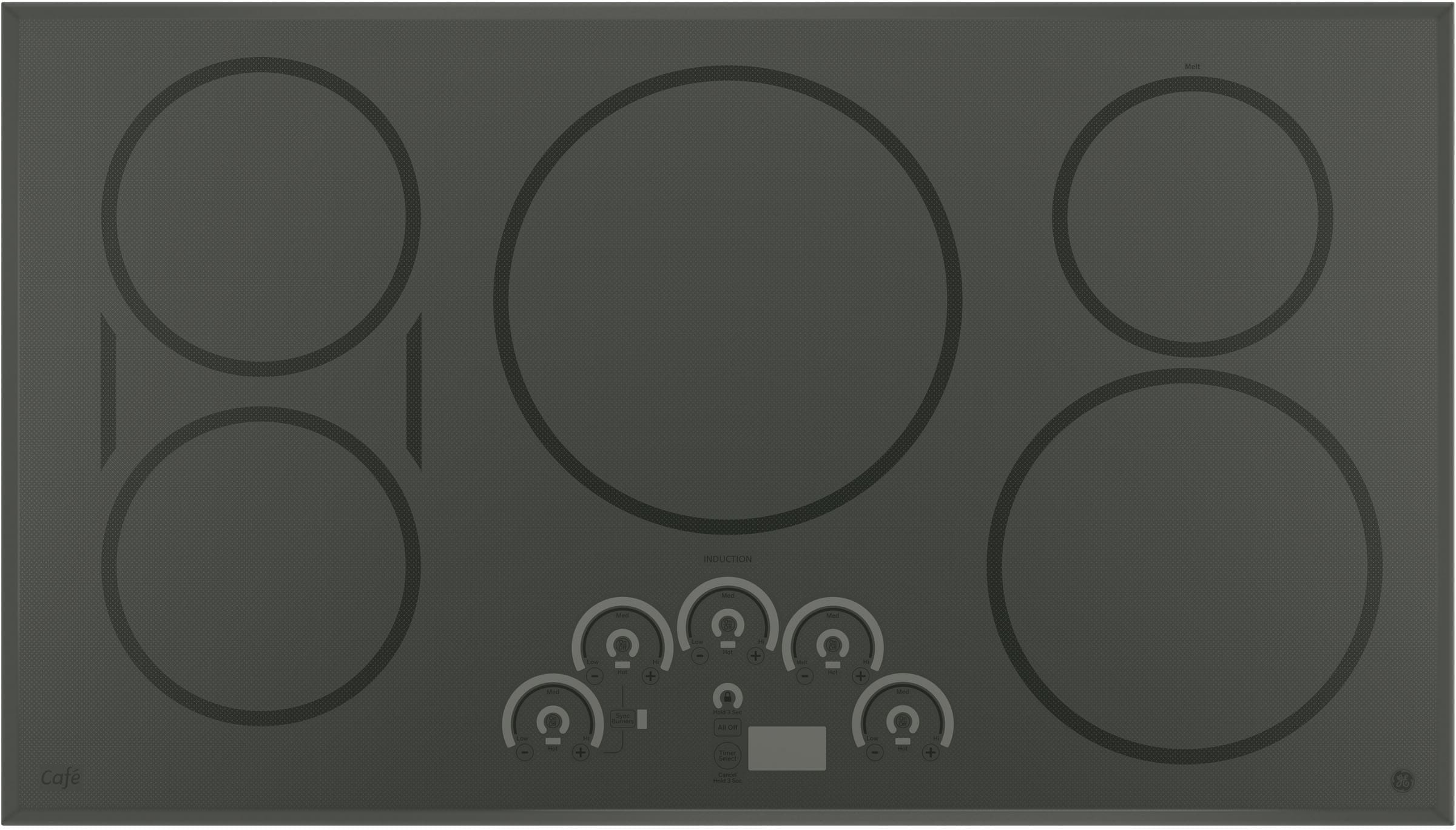 Ge Cp9536sjss 36 Inch Smoothtop Electric Cooktop With 5