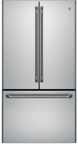 Attractive GE Cafe Series CWE23SSHSS   36 Inch Counter Depth French Door Refrigerator  ...