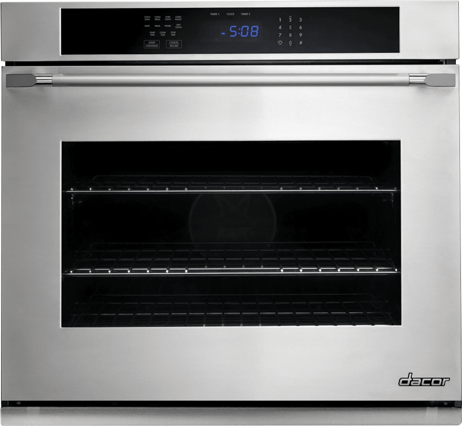 Dacor Dto127s 27 Inch Single Electric Wall Oven With