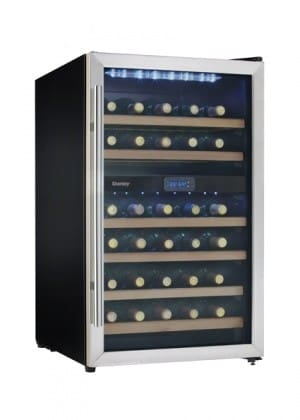 Danby Dwc113blsdb 19 1 2 Inch Wine Cooler With 38 Bottle