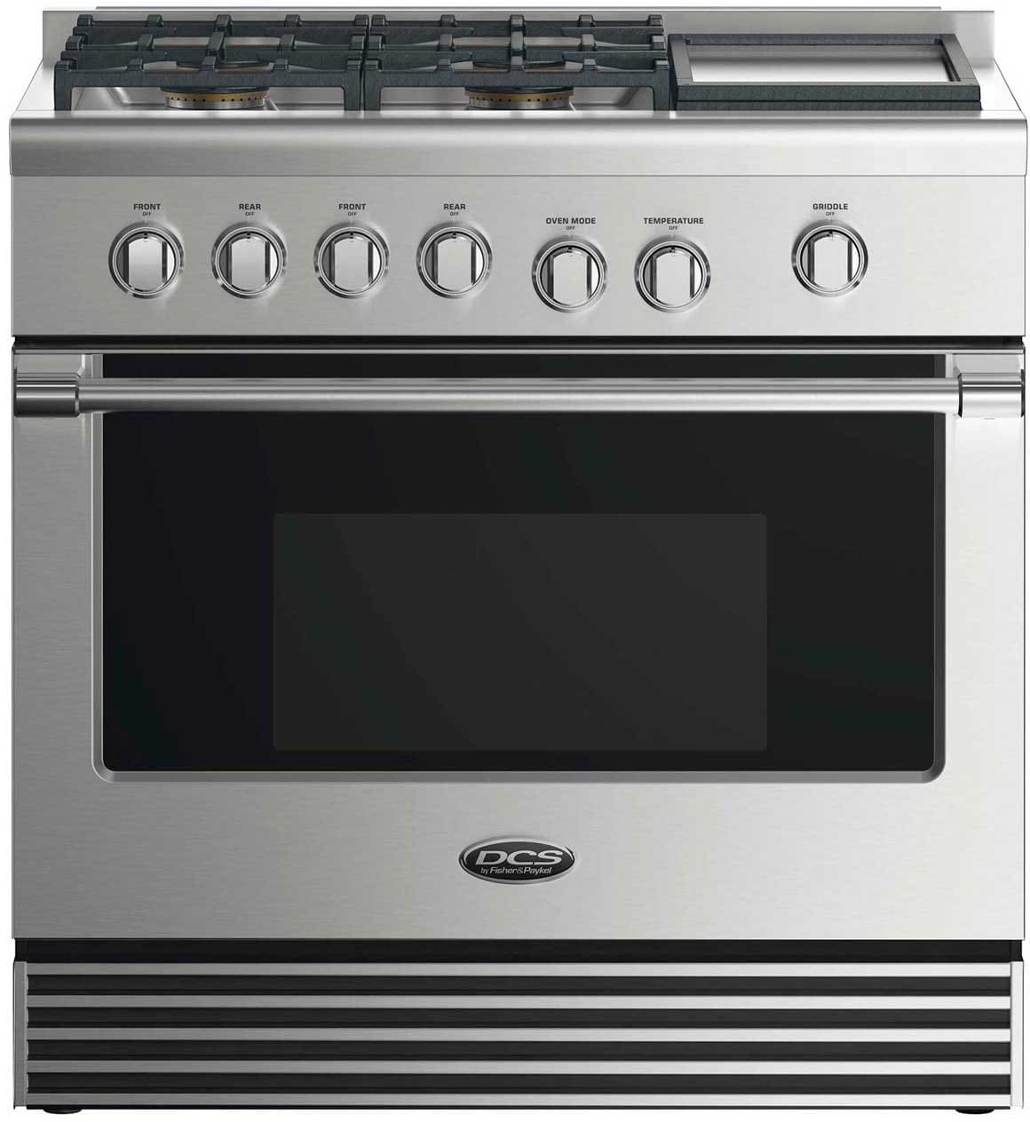 Dcs Rgv2364gdn 36 Inch Gas Range With 4 Sealed Burners 5