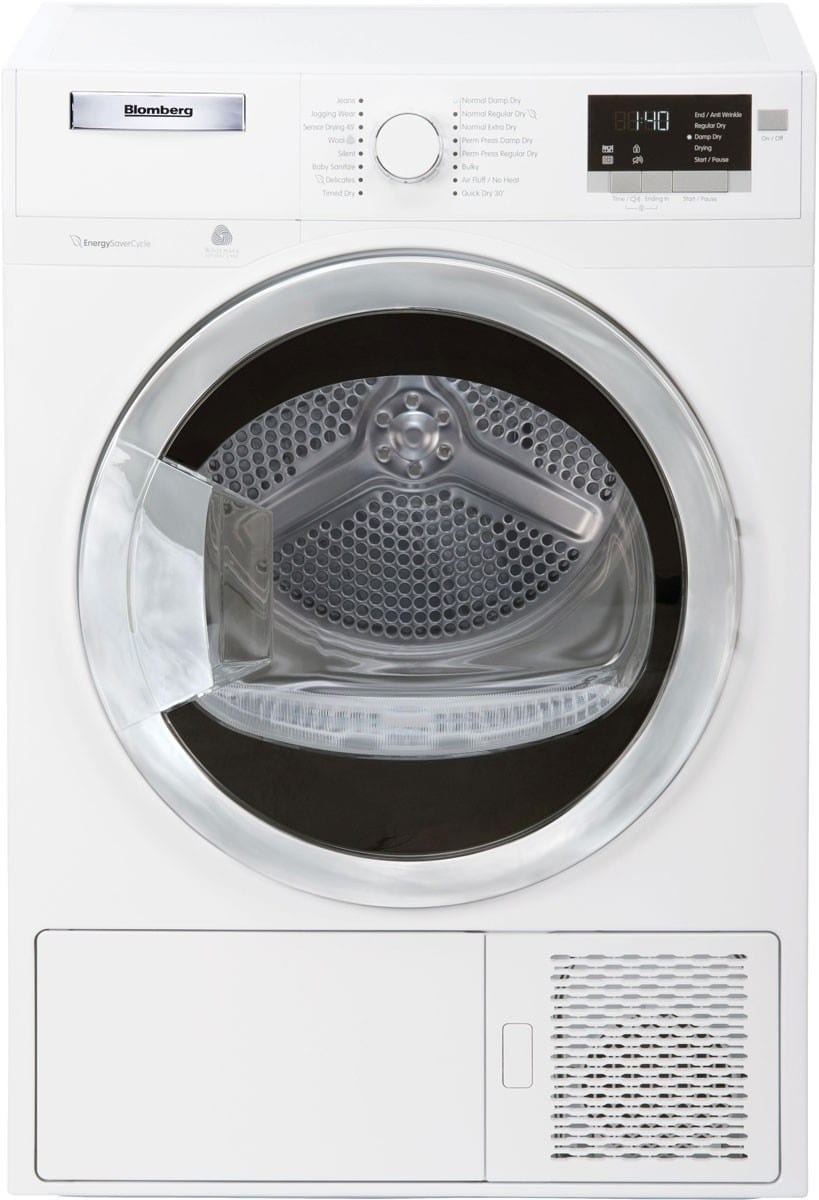 Blomberg Dhp24412w 24 Inch 4 1 Cu Ft Ventless Electric